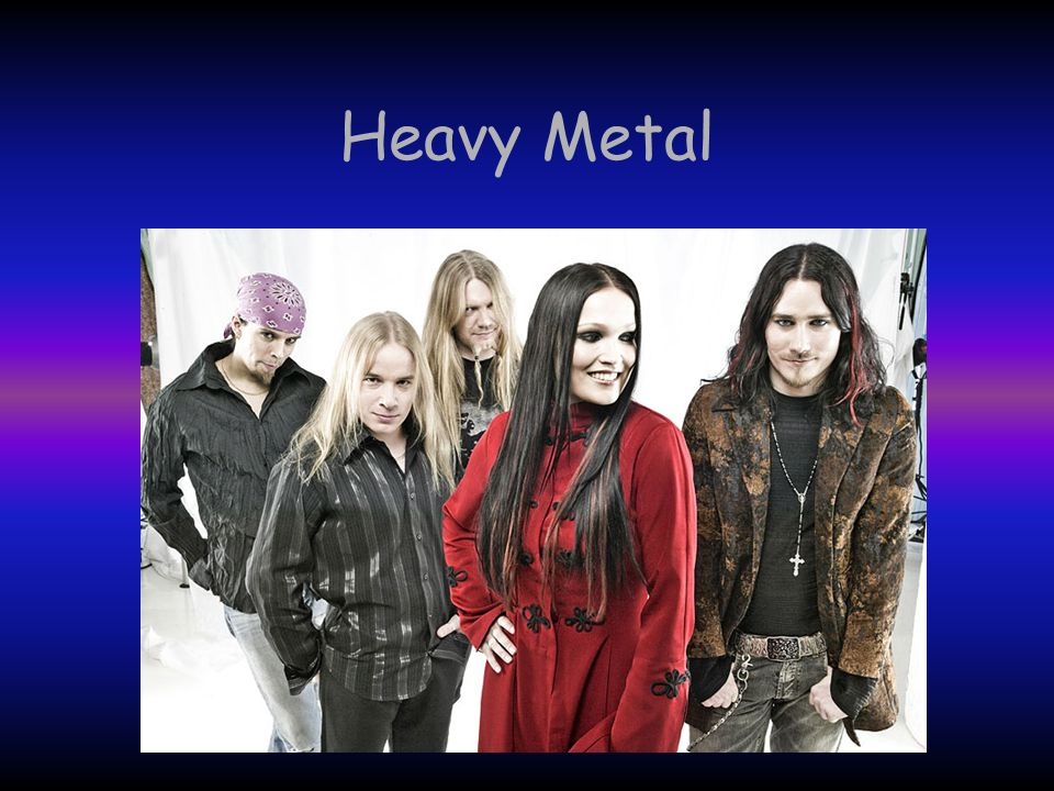 História do Heavy Metal O heavy metal, ou simplesmente metal, é um estilo musical derivado do rock n roll, que é ao mesmo tempo um estilo que dá para dançar e que tem influências de outros estilos musicais: o country e o blues.