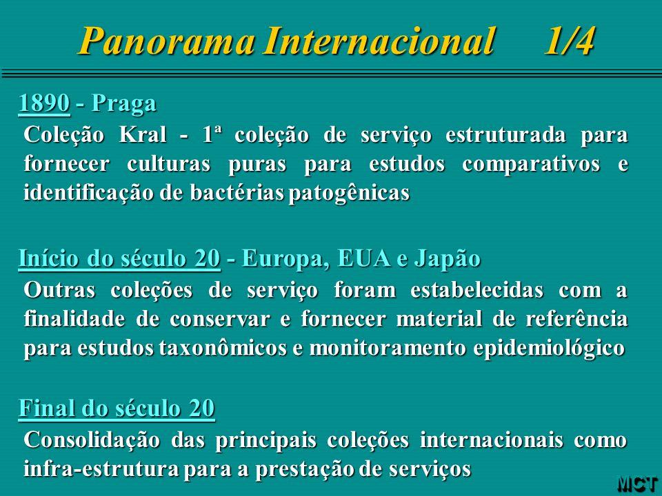 Panorama Internacional 1/4 1890 - Praga Coleção Kral - 1ª coleção de serviço estruturada para fornecer culturas puras para estudos comparativos e iden