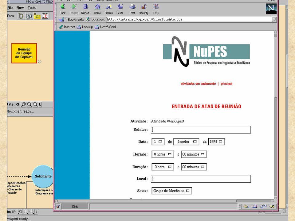MOECKEL, Alexandre; AZEVEDO, Hilton. Implementação com Workflow para Gestão de P&D em Ambiente de Engenharia Simultânea. In: ISKM/DM'2001 - 4TH INTERN