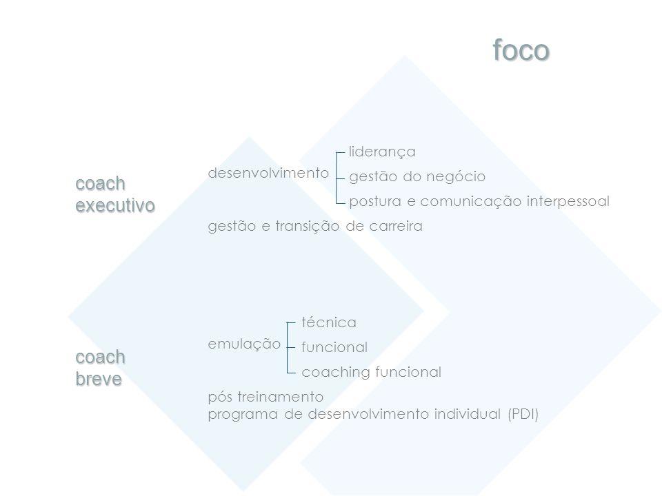 desenvolvimento liderança gestão do negócio postura e comunicação interpessoal gestão e transição de carreira coachexecutivo coachbreve emulação técni