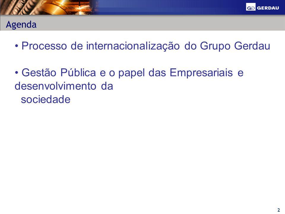 13 Gestão Pública * Resultados previstos para 2007.