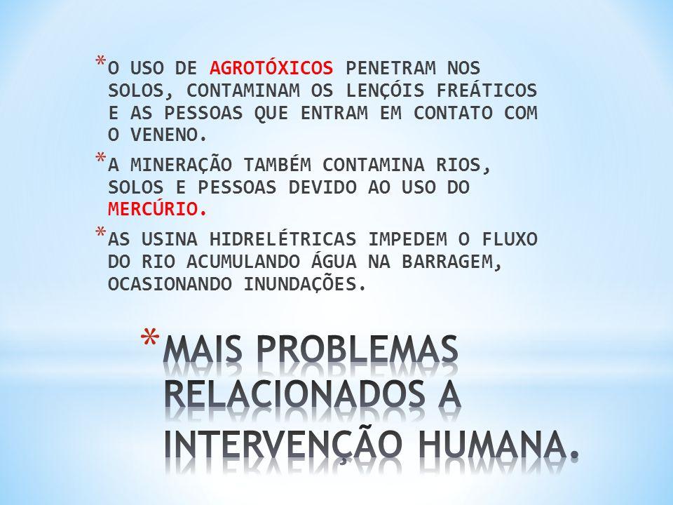 NA TENTATIVA DE IMPEDIR OU DIMINUIR OS DANOS CAUSADOS PELA INTERVENÇÃO HUMANA NA VEGETAÇÃO, FORAM CRIADAS ÁREAS DE PRESERVAÇÃO COMO UNIDADES DE CONSERVAÇÃO E UNIDADES DE PROTEÇÃO INTEGRAL.