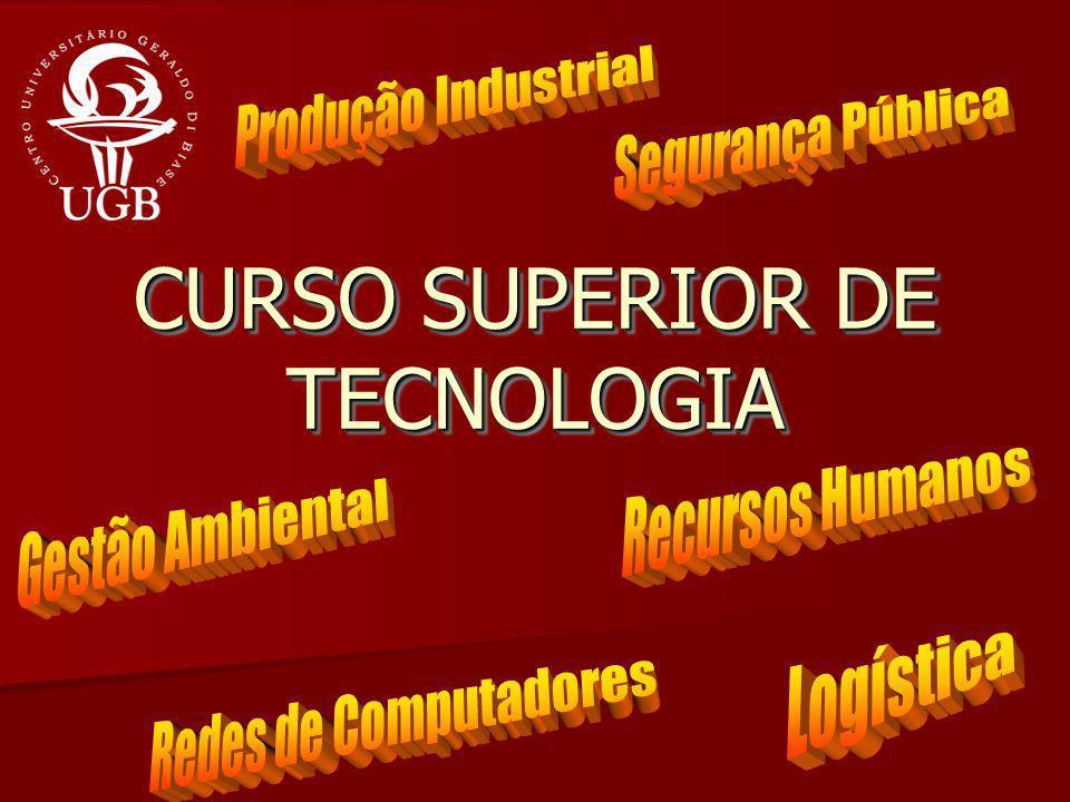 CURSO SUPERIOR DE TECNOLOGIA