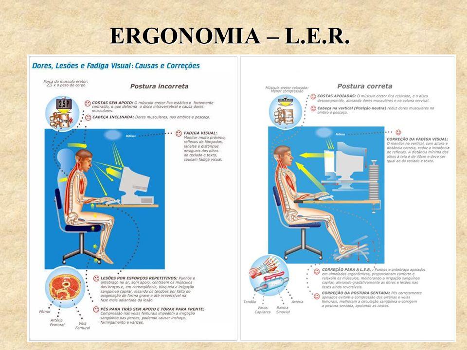 ERGONOMIA – L.E.R.