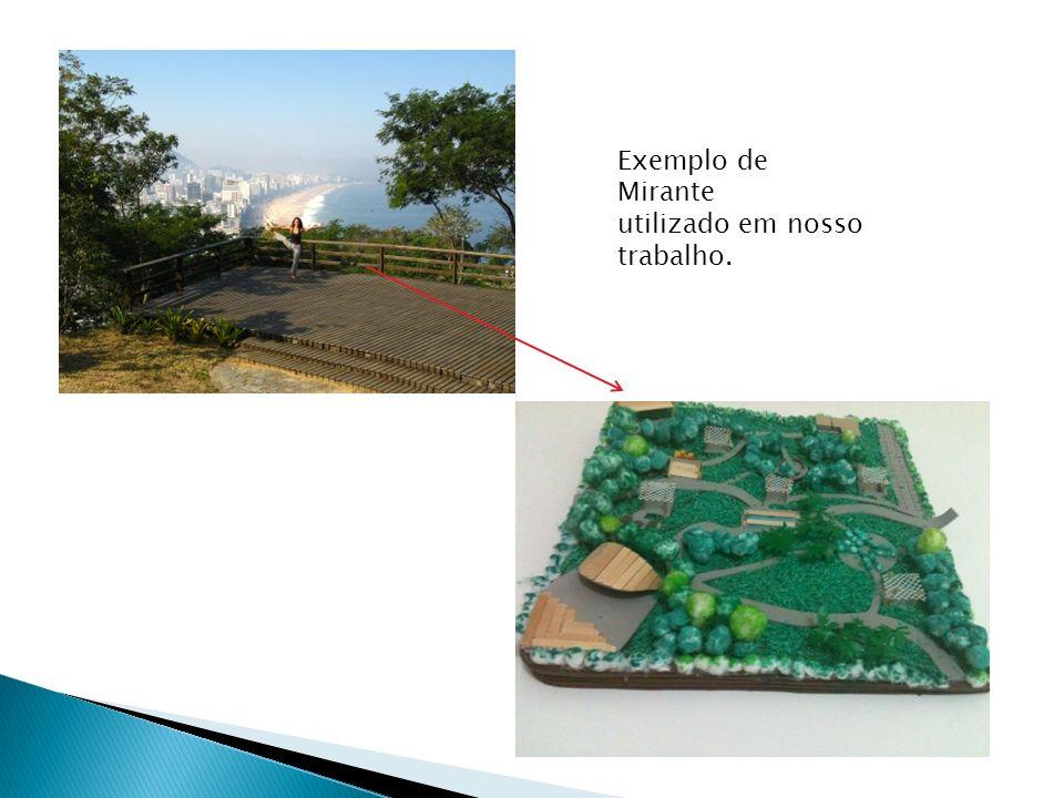 Exemplo de Mirante utilizado em nosso trabalho.