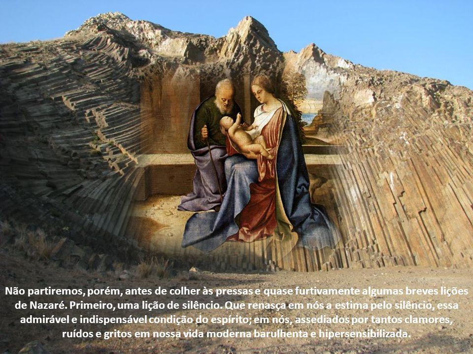 Como gostaríamos, junto a Maria, de recomeçar a adquirir a verdadeira ciência e a elevada sabedoria das verdades divinas. Mas estamos apenas de passag