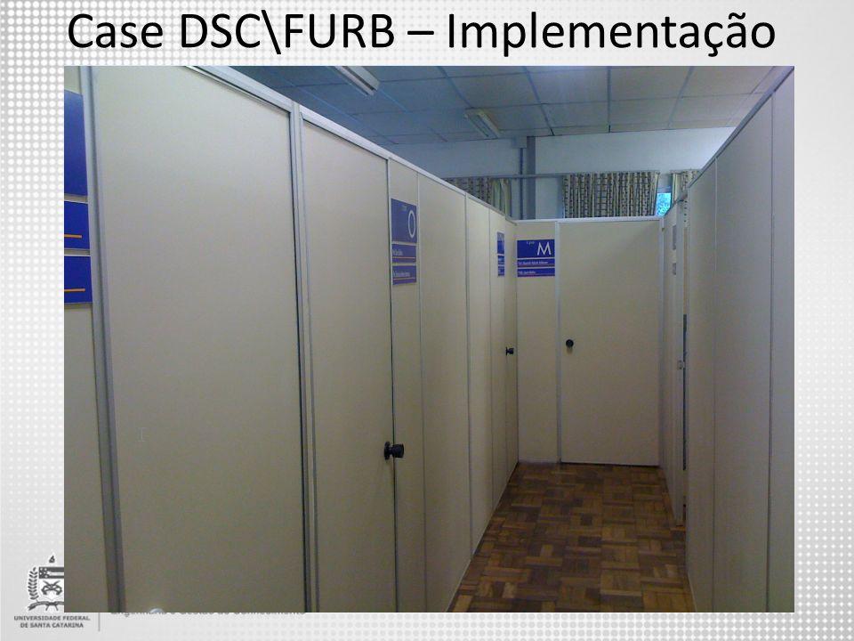 Case DSC\FURB – Implementação