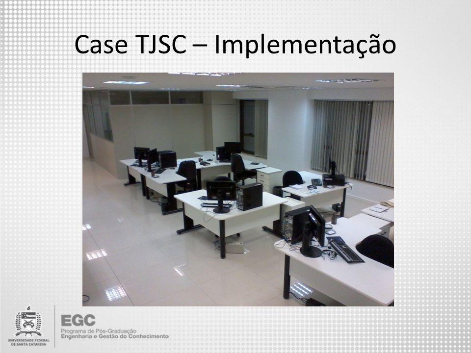 Case TJSC – Implementação