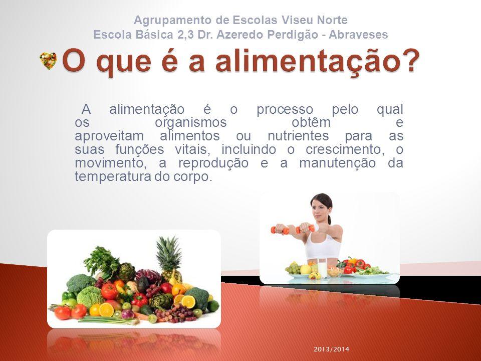 A alimentação é o processo pelo qual os organismos obtêm e aproveitam alimentos ou nutrientes para as suas funções vitais, incluindo o crescimento, o