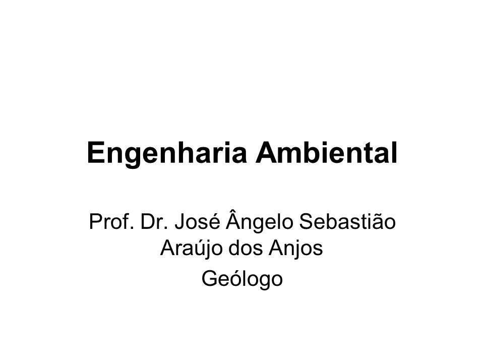 Engenharia Ambiental Prof. Dr. José Ângelo Sebastião Araújo dos Anjos Geólogo