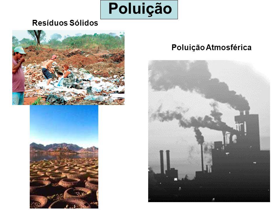 Poluição Poluição Atmosférica Resíduos Sólidos