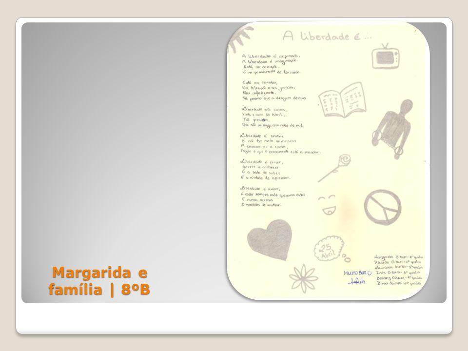 Margarida e família | 8ºB