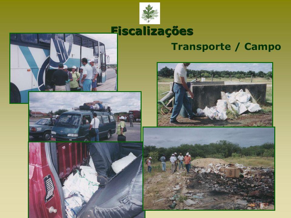 Fiscalizações Transporte / Campo