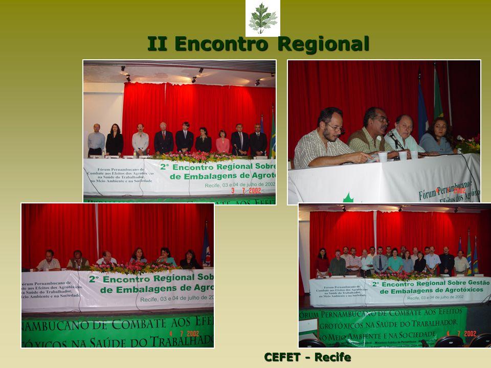 II Encontro Regional CEFET - Recife