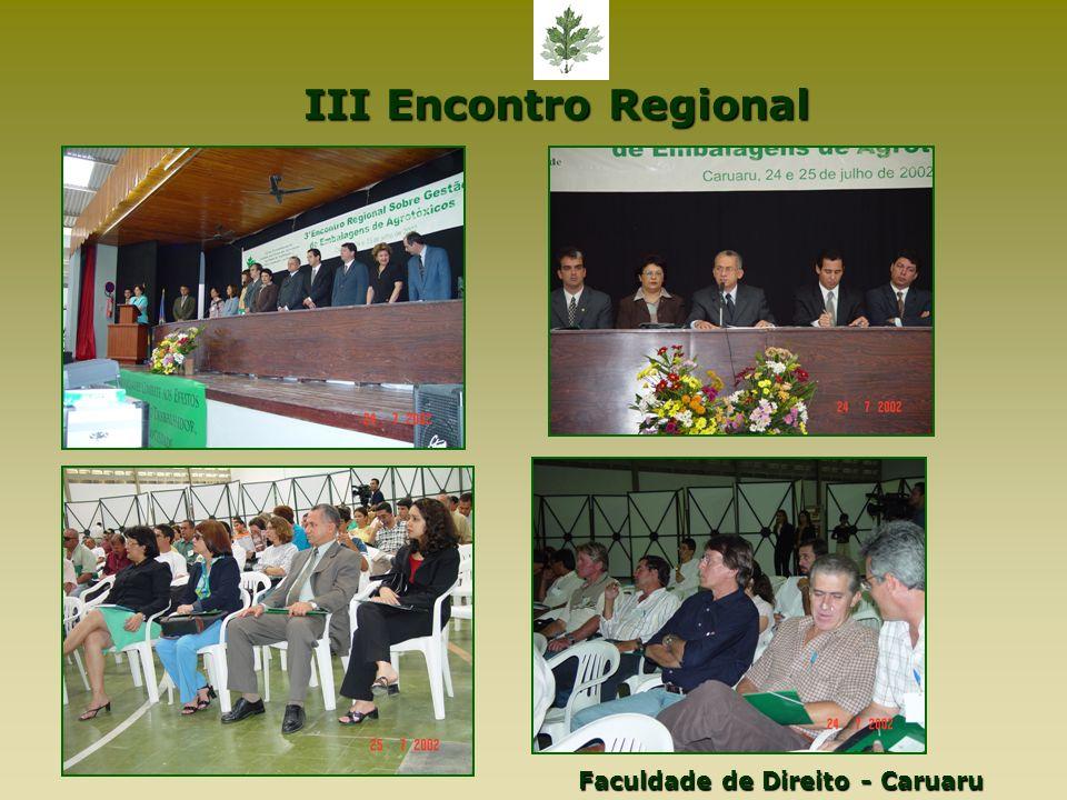 III Encontro Regional Faculdade de Direito - Caruaru