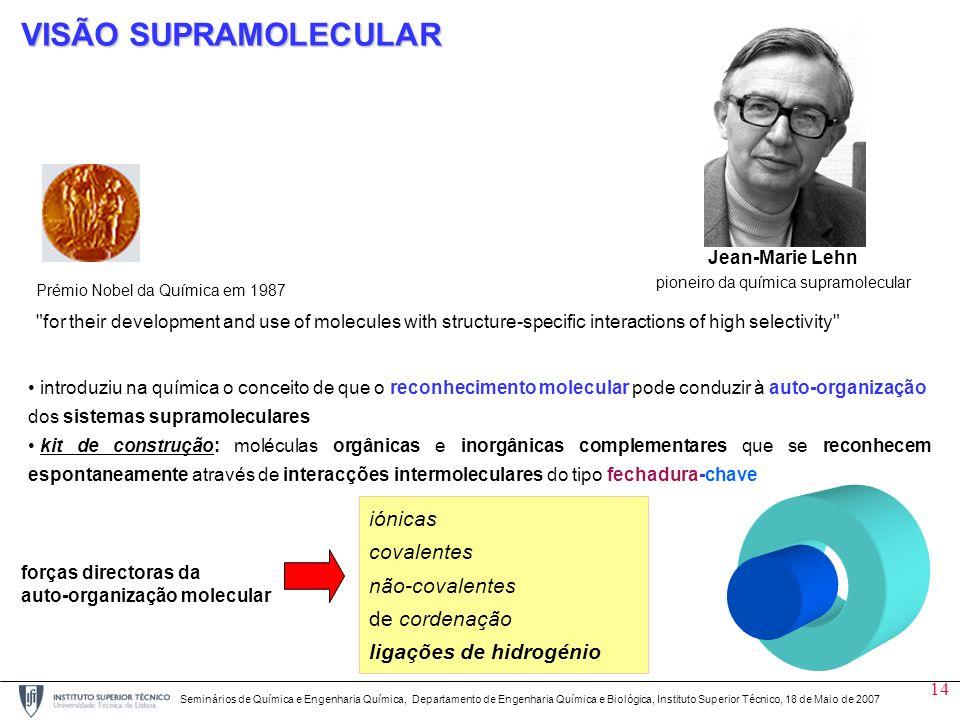 14 Prémio Nobel da Química em 1987