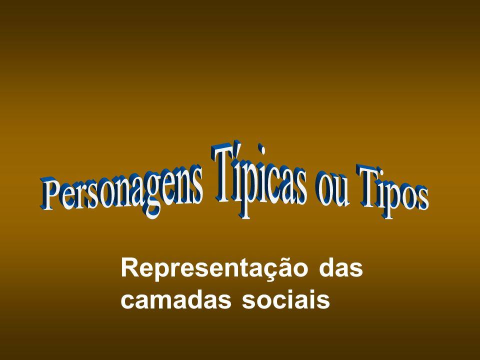 Representação das camadas sociais