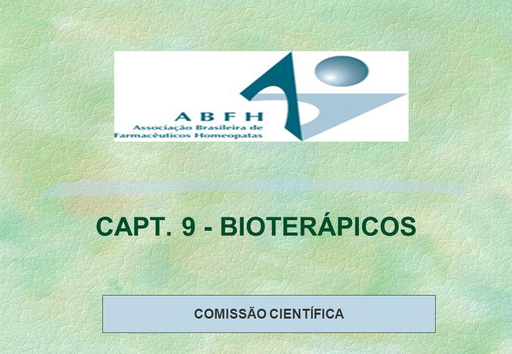 CAPT. 9 - BIOTERÁPICOS COMISSÃO CIENTÍFICA