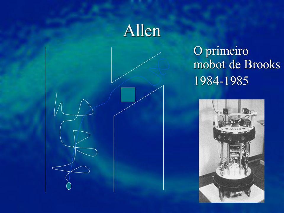 Allen O primeiro mobot de Brooks 1984-1985 1984-1985