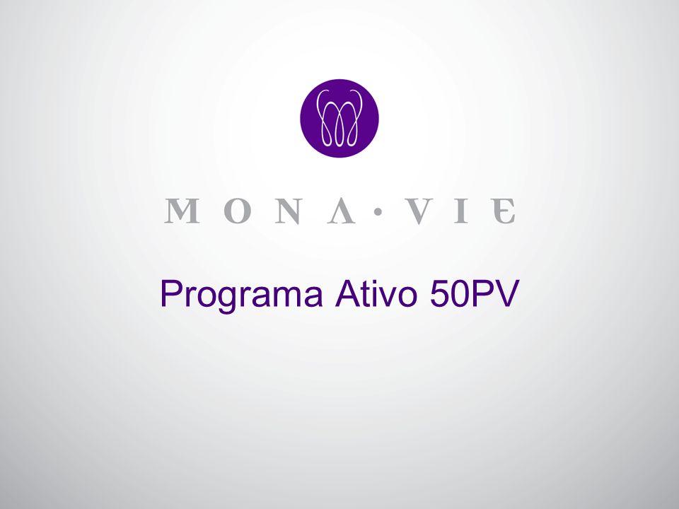 Objetivo: Facilitar a entrada de novos distribuidores com atividade na MonaVie e aumentar a participação no programa de auto-envio.