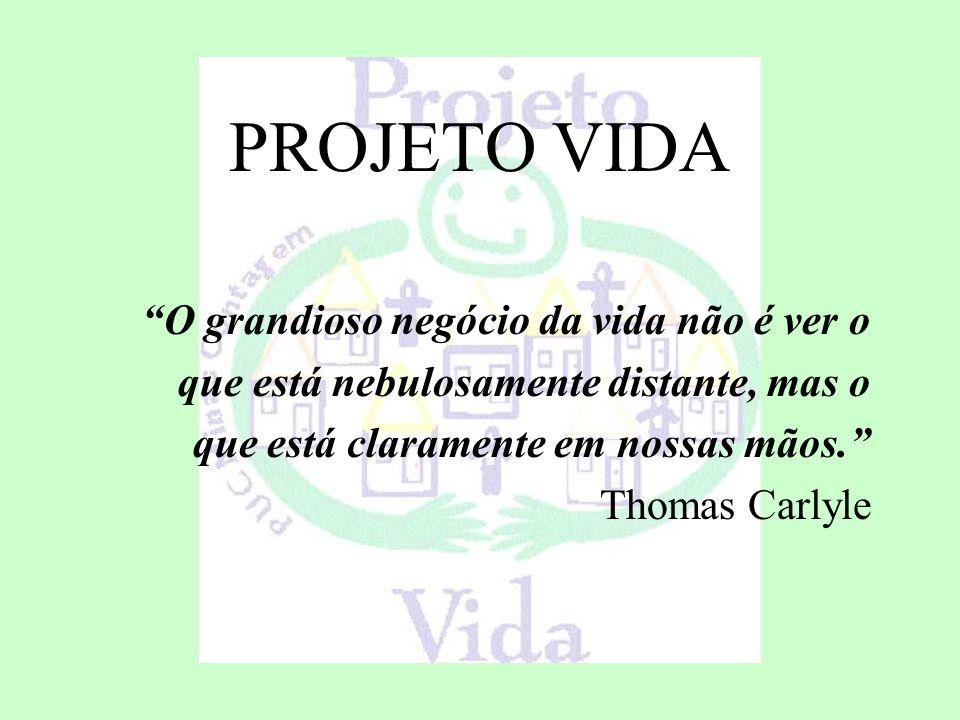 O Projeto VIDA teve início a partir das discussões realizadas em sala de aula sobre a situação social de parcela da população brasileira.