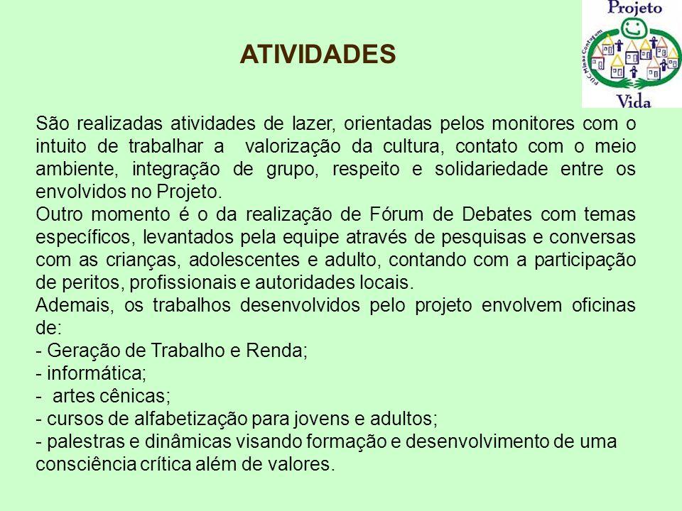 OFICINA DE GERAÇÃO DE RENDA