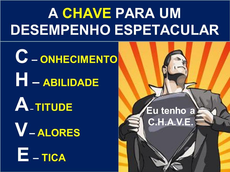Eu tenho a C.H.A.V.E.