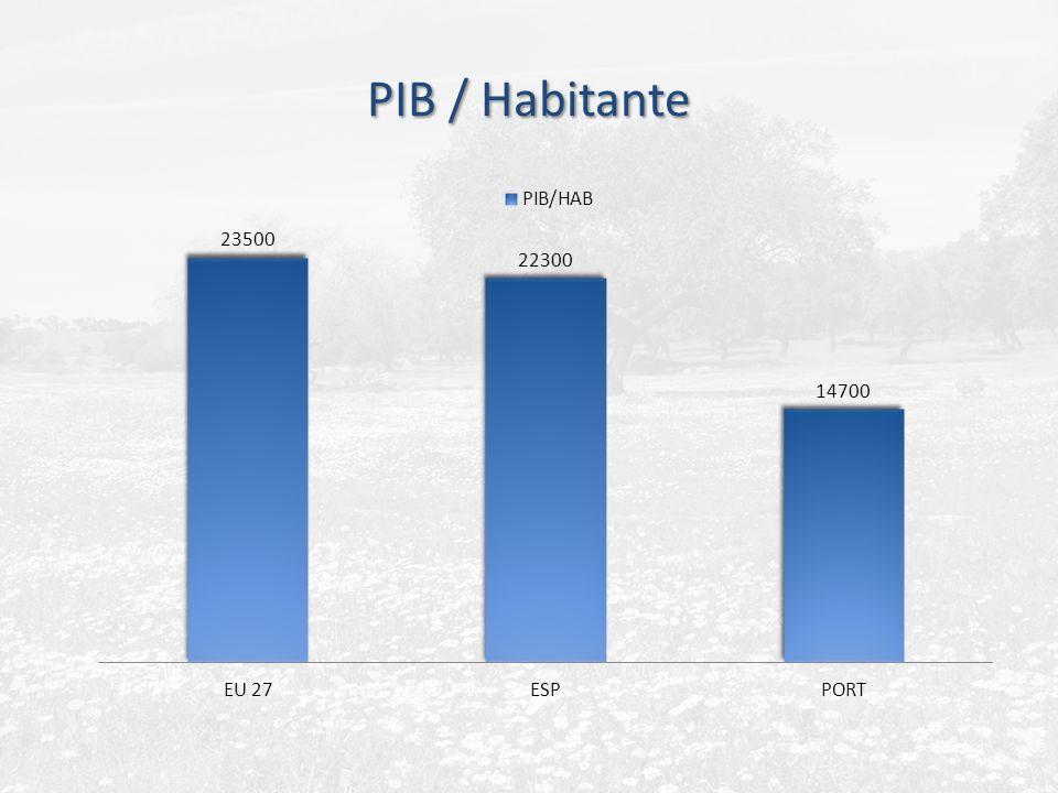 PIB / Habitante
