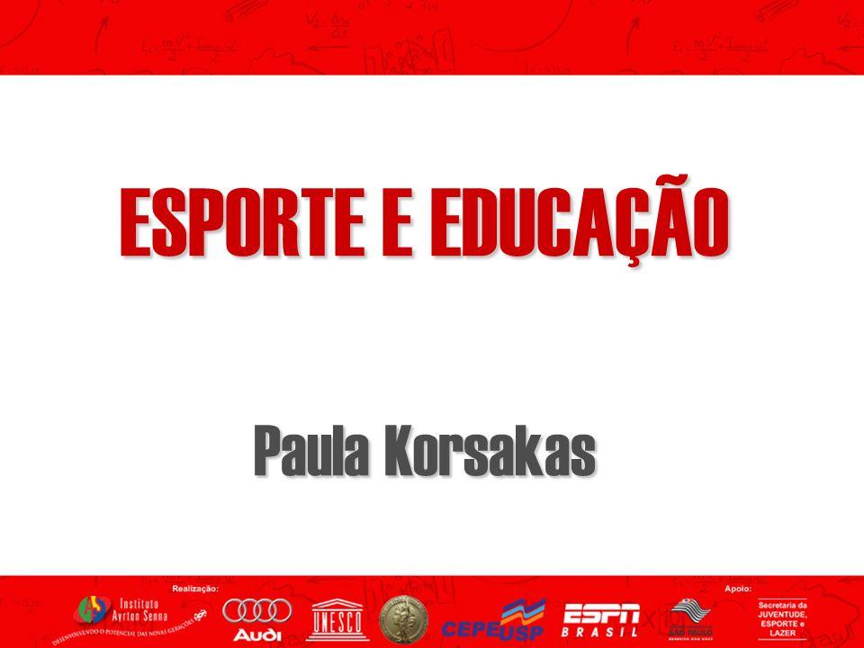 O que se fala sobre esporte e educaçãoO que se fala sobre esporte e educação O que se pesquisa sobre esporte e educaçãoO que se pesquisa sobre esporte e educação O que eu penso sobre esporte e educaçãoO que eu penso sobre esporte e educação