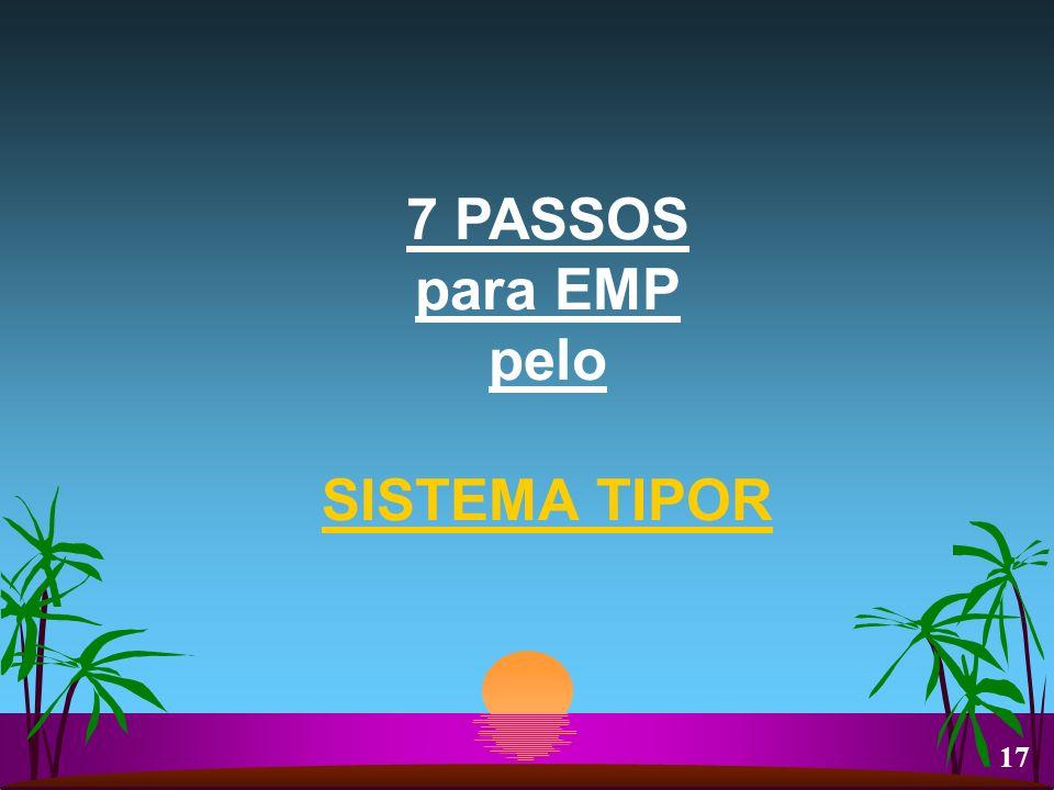 7 PASSOS para EMP pelo SISTEMA TIPOR 17