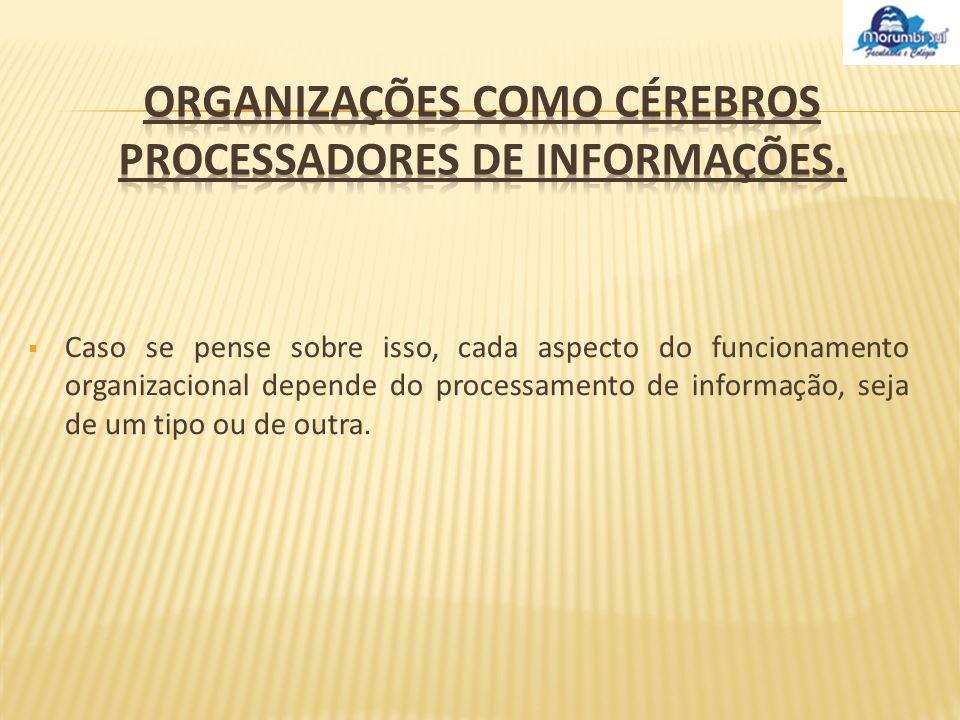 Modelo de processamento de informação: Burocracia Tomada De Decisão Processamento de Informação Regras Pré-Determinadas