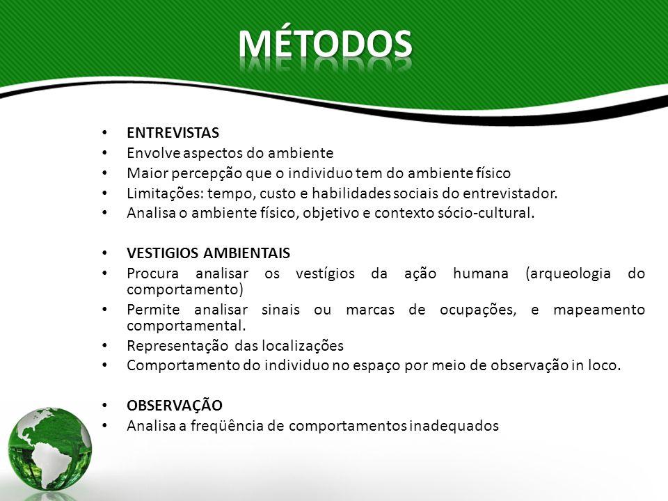Segundo Pinheiro (1997), a Psicologia Ambiental se interessa por compreender a interação do homem com seu ambiente para desenvolver estratégias e ferramentas de aplicação e intervenção que contribuam para a mudança dessa relação de forma mais consciente.