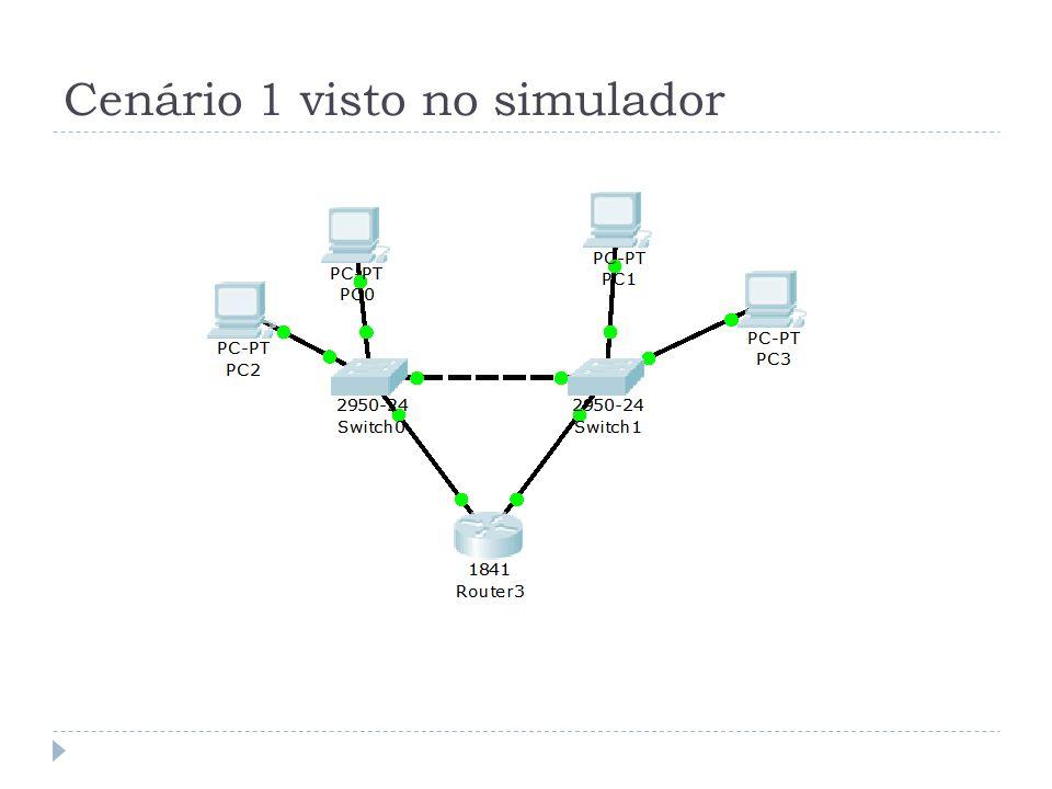 Portas VLANS em Switches CISCO A Cisco define 6 modos de operação de portas para VLAN: switchport mode access Força a porta a operar em modo acesso switchport mode dynamic auto Permite que a interface entre em modo trunk switchport mode dynamic desirable Entra prioritariamente em modo trunk switchport mode trunk Força a porta a operar em modo trunk switchport nonegotiate Não negocia com a porta vizinha switchport mode dot1q-tunnel Força o encapsulamento em modo 802.1q