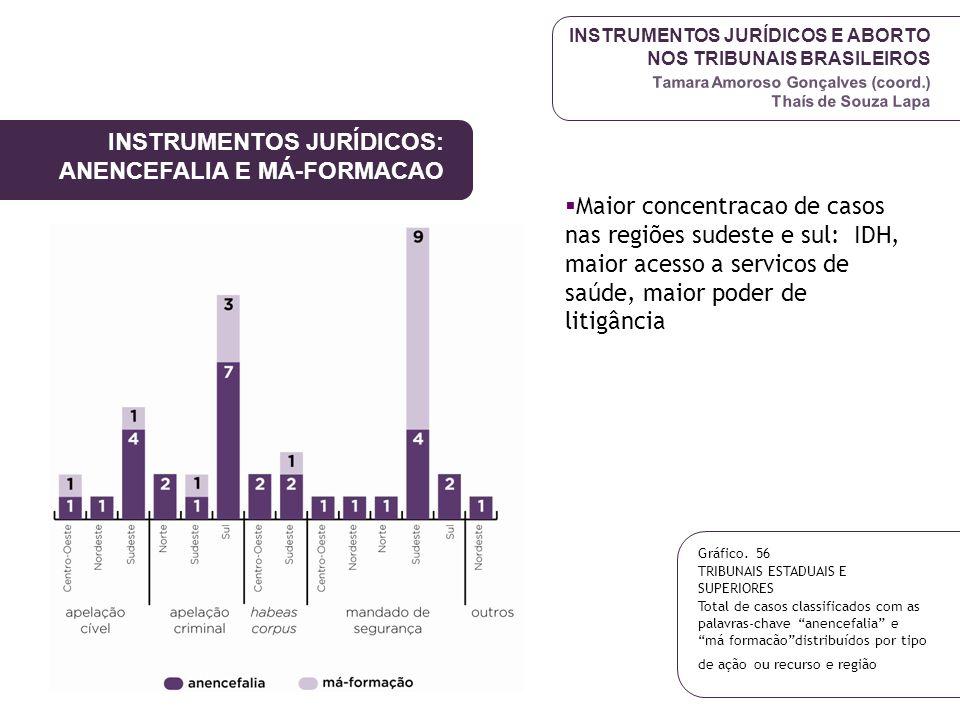 INSTRUMENTOS JURÍDICOS E ABORTO NOS TRIBUNAIS BRASILEIROS Tamara Amoroso Gonçalves (coord.) Thaís de Souza Lapa INSTRUMENTOS JURÍDICOS: ANENCEFALIA E