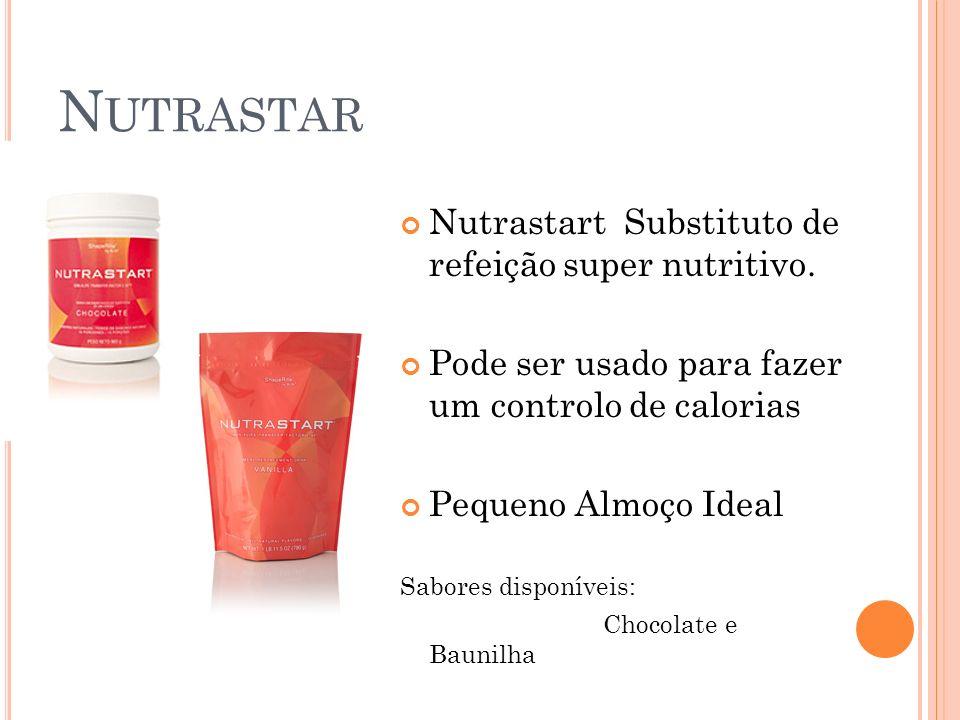 N UTRASTAR Nutrastart Substituto de refeição super nutritivo. Pode ser usado para fazer um controlo de calorias Pequeno Almoço Ideal Sabores disponíve