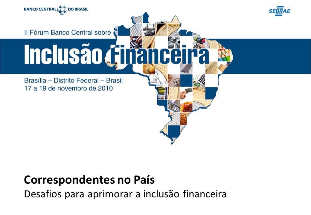 Correspondentes no País Desafios para aprimorar a inclusão financeira
