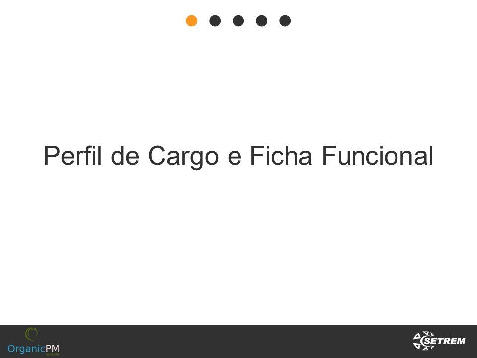 Perfil de Cargo e Ficha Funcional