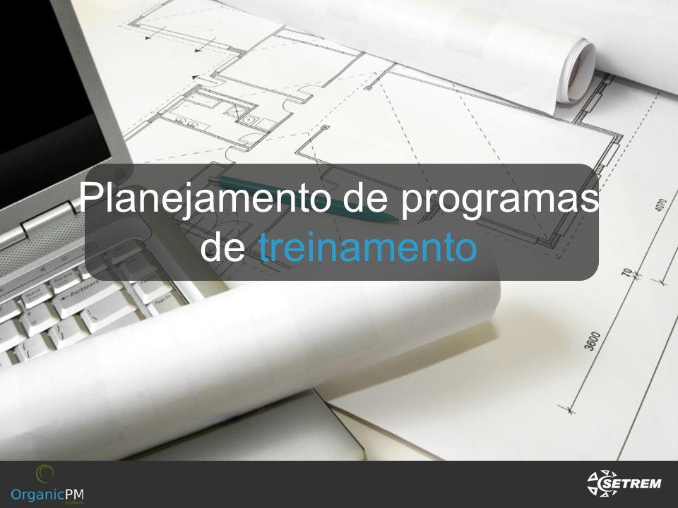 Planejamento de programas de treinamento