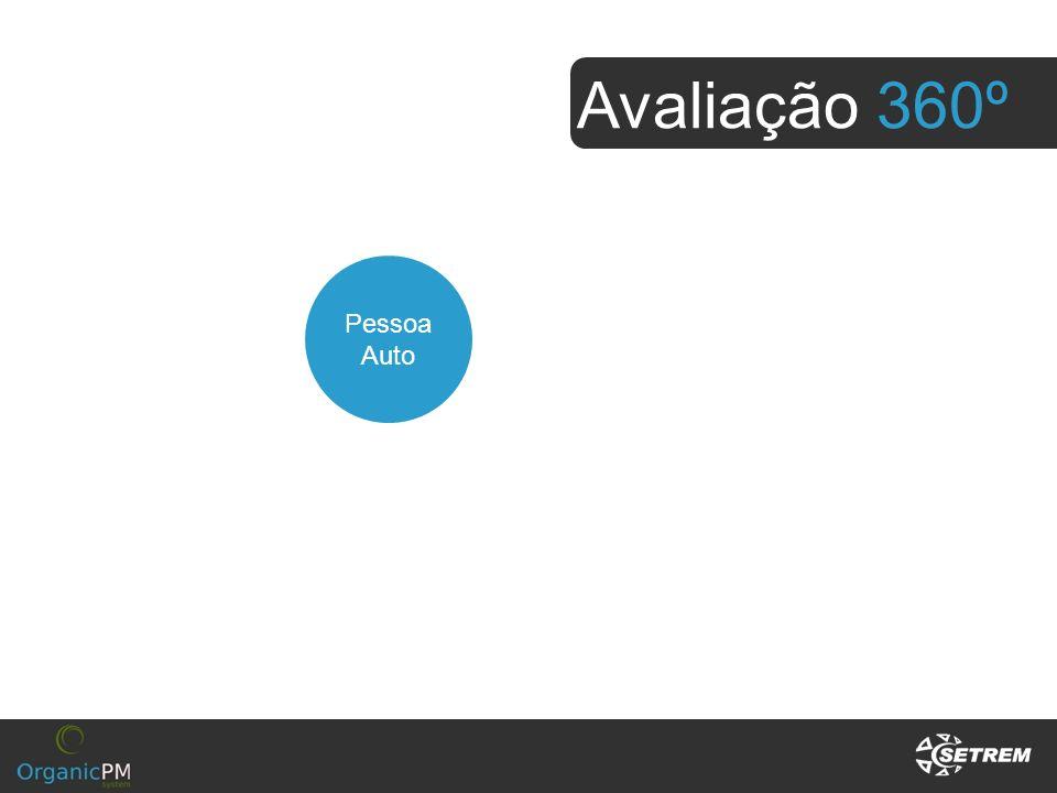 Avaliação 360º Pessoa Auto Superiores Subordinados
