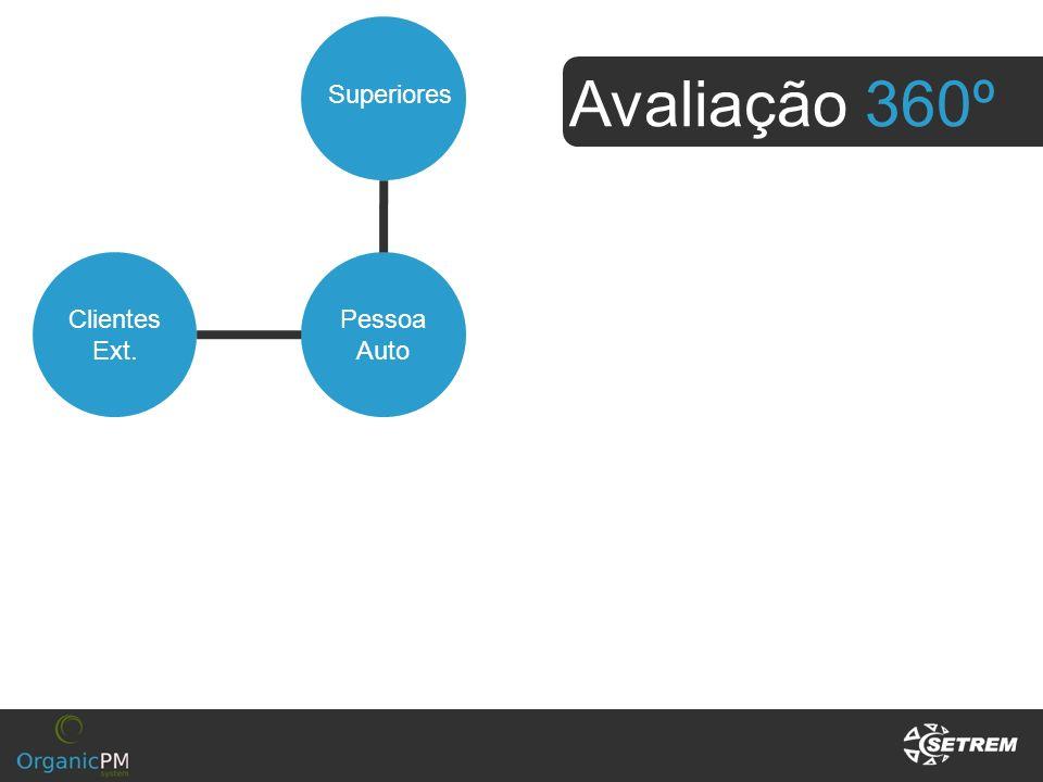 Avaliação 360º Clientes Ext. Pessoa Auto Superiores Subordinados