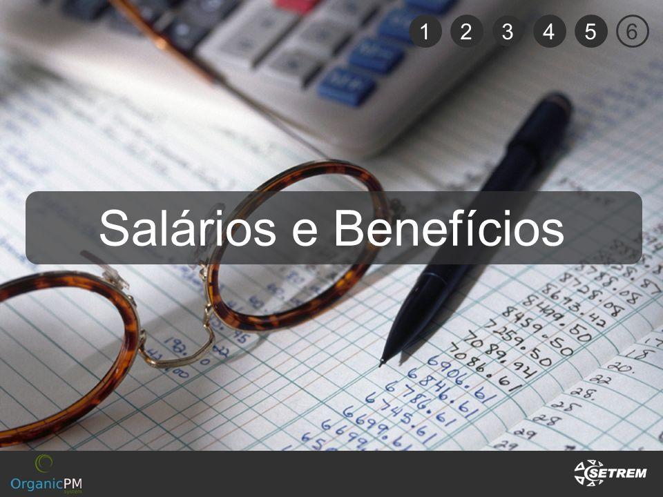 12 3 456 Salários e Benefícios