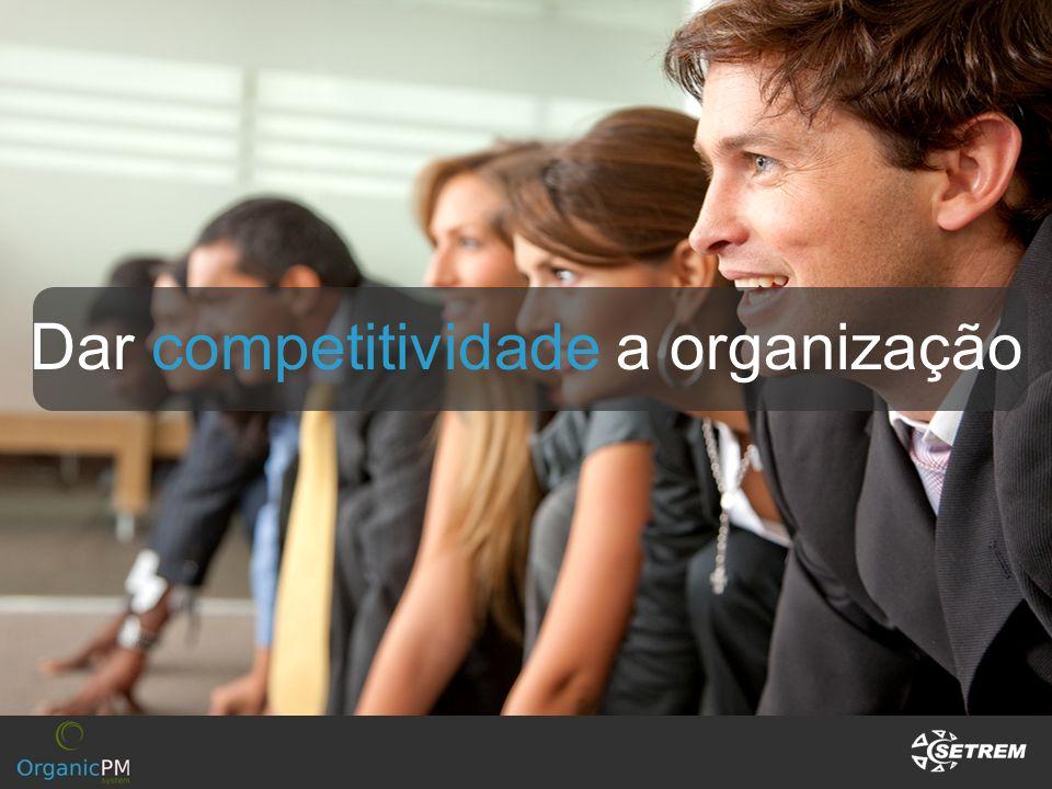 Dar competitividade a organização