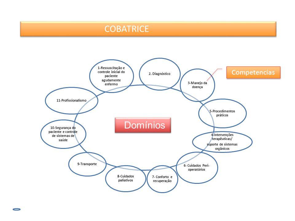 Domínios Competencias COBATRICE