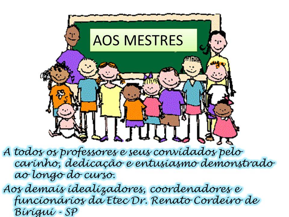 AOS MESTRES