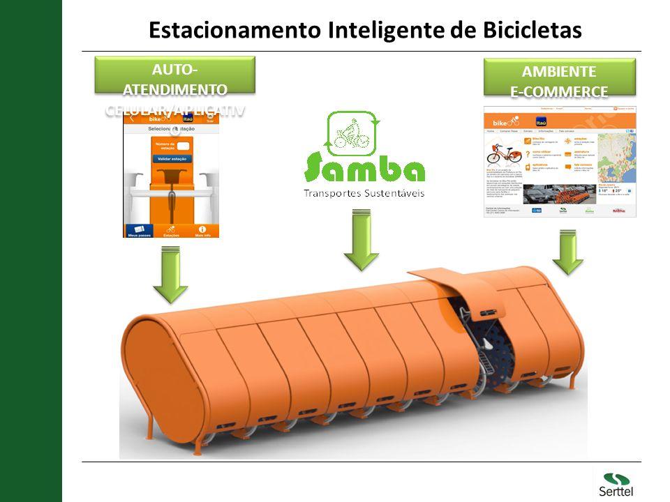 Estacionamento Inteligente de Bicicletas AMBIENTE E-COMMERCE AMBIENTE E-COMMERCE AUTO- ATENDIMENTO CELULAR/APLICATIV O