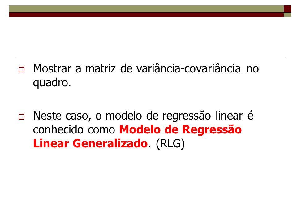 Econometria 2. Consequências Danielle Carusi Machado - UFF - Econometria 2/2010