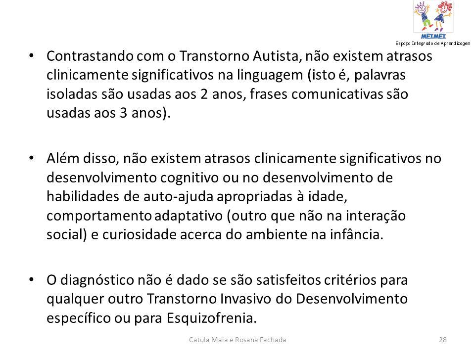 F84.5 -299.80 TRANSTORNO DE ASPERGER -DSM.IV - DSM.IV Características Diagnósticas As características essenciais do Transtorno de Asperger são um prej