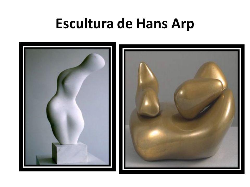 Escultura de Hans Arp