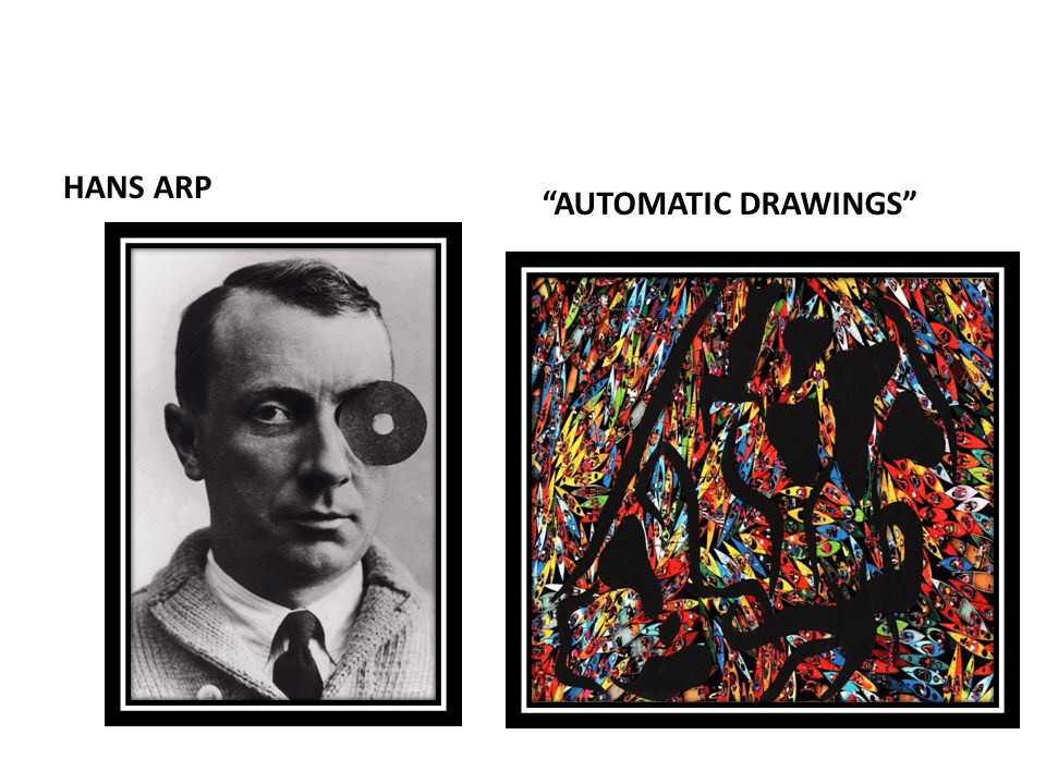 HANS ARP AUTOMATIC DRAWINGS