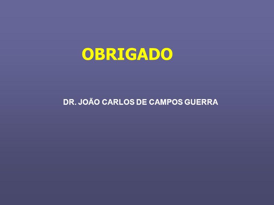 DR. JOÃO CARLOS DE CAMPOS GUERRA OBRIGADO